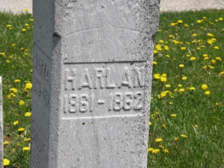 PHILLIPS, HARLAN - Wyandot County, Ohio   HARLAN PHILLIPS - Ohio Gravestone Photos