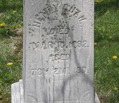 QUAIL, HENRY - Wyandot County, Ohio | HENRY QUAIL - Ohio Gravestone Photos