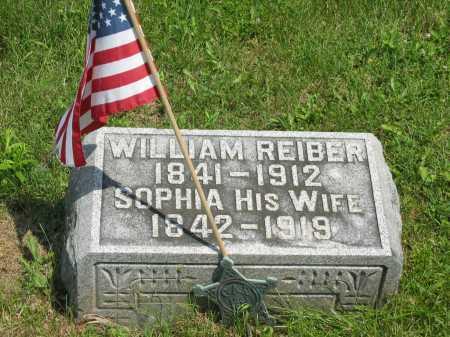 REIBER, WILLIAM - Wyandot County, Ohio | WILLIAM REIBER - Ohio Gravestone Photos