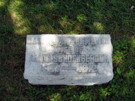 "SCHOENBERGER, CATHERINE ""CASSIE"" - Wyandot County, Ohio | CATHERINE ""CASSIE"" SCHOENBERGER - Ohio Gravestone Photos"