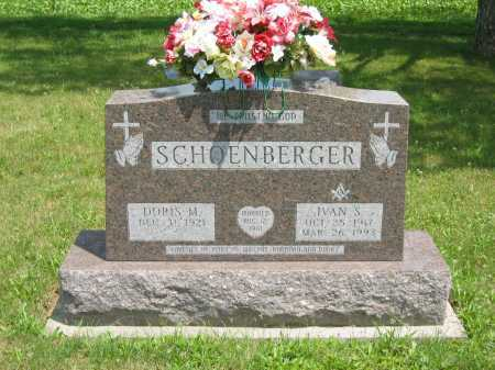 SCHOENBERGER, IVAN S. - Wyandot County, Ohio | IVAN S. SCHOENBERGER - Ohio Gravestone Photos