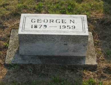 SCHOENBERGER, GEORGE N. - Wyandot County, Ohio | GEORGE N. SCHOENBERGER - Ohio Gravestone Photos