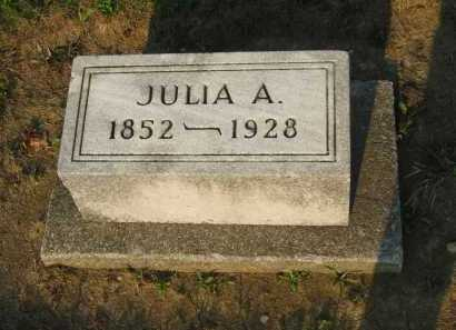SCHOENBERGER, JULIA A. - Wyandot County, Ohio | JULIA A. SCHOENBERGER - Ohio Gravestone Photos