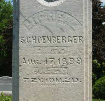 SCHOENBERGER, JOHAN MICHAEL - Wyandot County, Ohio | JOHAN MICHAEL SCHOENBERGER - Ohio Gravestone Photos