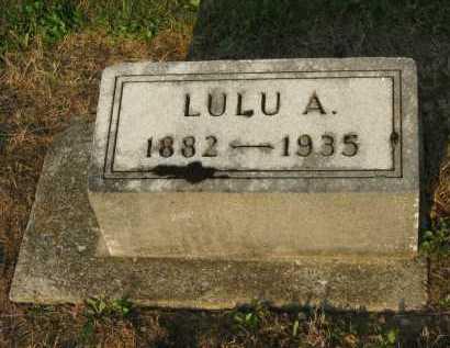 ZELLERS SCHOENBERGER, LULU A. - Wyandot County, Ohio | LULU A. ZELLERS SCHOENBERGER - Ohio Gravestone Photos