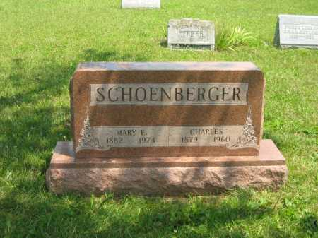 SCHOENBERGER, CHARLES - Wyandot County, Ohio | CHARLES SCHOENBERGER - Ohio Gravestone Photos