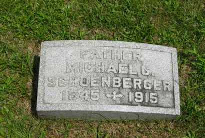 SCHOENBERGER, MICHAEL G. - Wyandot County, Ohio | MICHAEL G. SCHOENBERGER - Ohio Gravestone Photos