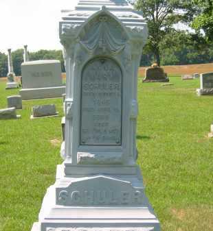 SCHULER, ANNA MARY - Wyandot County, Ohio | ANNA MARY SCHULER - Ohio Gravestone Photos