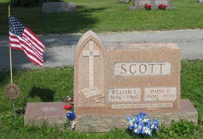 SCOTT, WILLIAM EDWARD - Wyandot County, Ohio | WILLIAM EDWARD SCOTT - Ohio Gravestone Photos