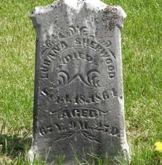 SHERWOOD, LURANA - Wyandot County, Ohio | LURANA SHERWOOD - Ohio Gravestone Photos