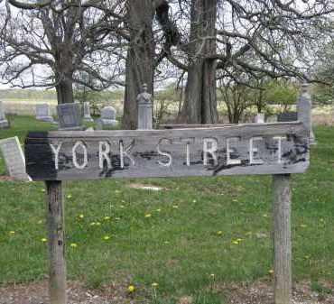 SIGN, CEMETERY - Wyandot County, Ohio | CEMETERY SIGN - Ohio Gravestone Photos