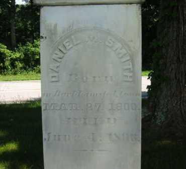SMITH, DANIEL M. - Wyandot County, Ohio | DANIEL M. SMITH - Ohio Gravestone Photos