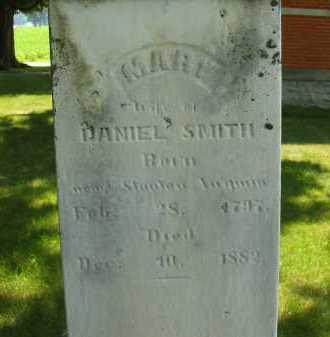 SMITH, MARY - Wyandot County, Ohio | MARY SMITH - Ohio Gravestone Photos