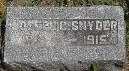 SNYDER, JOSEPH C. - Wyandot County, Ohio | JOSEPH C. SNYDER - Ohio Gravestone Photos