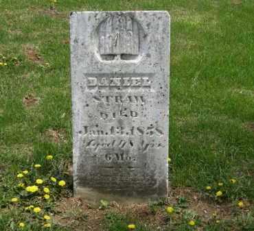 STRAW, DANIEL - Wyandot County, Ohio   DANIEL STRAW - Ohio Gravestone Photos