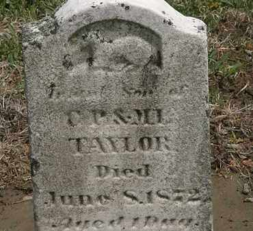 TAYLOR, INFANT SON - Wyandot County, Ohio | INFANT SON TAYLOR - Ohio Gravestone Photos