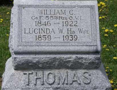 THOMAS, WILLIAM C. - Wyandot County, Ohio | WILLIAM C. THOMAS - Ohio Gravestone Photos