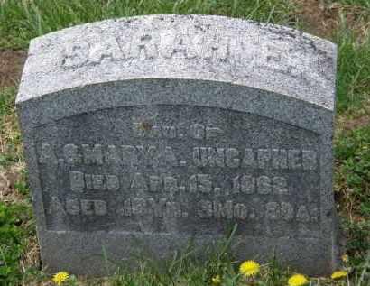 UNCAPHER, SARAH E. - Wyandot County, Ohio | SARAH E. UNCAPHER - Ohio Gravestone Photos