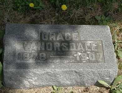 VANORSDALL, GRACE - Wyandot County, Ohio   GRACE VANORSDALL - Ohio Gravestone Photos