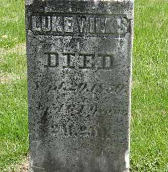 WILKS, LUKE - Wyandot County, Ohio | LUKE WILKS - Ohio Gravestone Photos