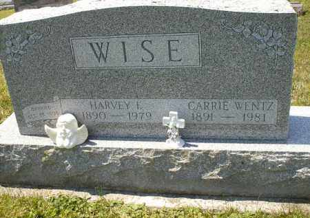 WISE, HARVEY F. - Wyandot County, Ohio | HARVEY F. WISE - Ohio Gravestone Photos