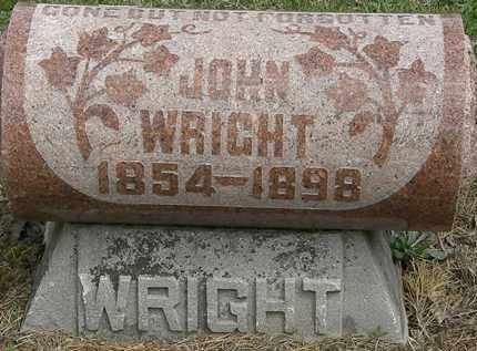 WRIGHT, JOHN - Wyandot County, Ohio   JOHN WRIGHT - Ohio Gravestone Photos