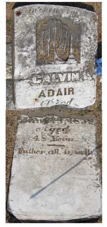 ADAIR, CALVIN SEQUOYAH - Adair County, Oklahoma | CALVIN SEQUOYAH ADAIR - Oklahoma Gravestone Photos
