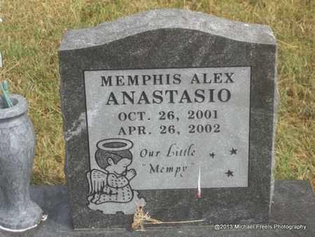 ANASTASIO, MEMPHIS ALEX - Adair County, Oklahoma | MEMPHIS ALEX ANASTASIO - Oklahoma Gravestone Photos