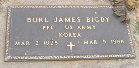 BIGBY (KOREA), BURL JAMES - Adair County, Oklahoma | BURL JAMES BIGBY (KOREA) - Oklahoma Gravestone Photos