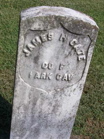 CATE, JAMES H - Adair County, Oklahoma | JAMES H CATE - Oklahoma Gravestone Photos
