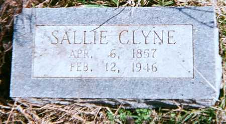 CLYNE, SALLIE - Adair County, Oklahoma   SALLIE CLYNE - Oklahoma Gravestone Photos