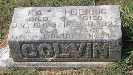 COLVIN, RAY - Adair County, Oklahoma   RAY COLVIN - Oklahoma Gravestone Photos