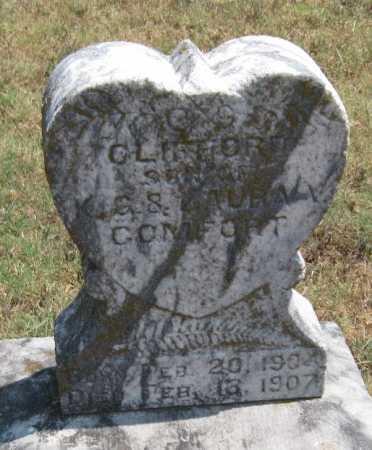 COMFORT, CLIFFORD - Adair County, Oklahoma | CLIFFORD COMFORT - Oklahoma Gravestone Photos