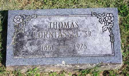 CORNTASSEL, SR, THOMAS - Adair County, Oklahoma   THOMAS CORNTASSEL, SR - Oklahoma Gravestone Photos