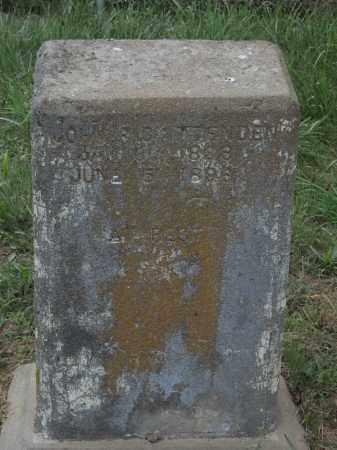CRITTENDEN, JOHN ROSS - Adair County, Oklahoma | JOHN ROSS CRITTENDEN - Oklahoma Gravestone Photos