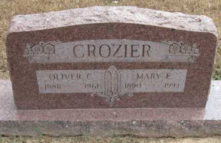 CROZIER, MARY E - Adair County, Oklahoma   MARY E CROZIER - Oklahoma Gravestone Photos