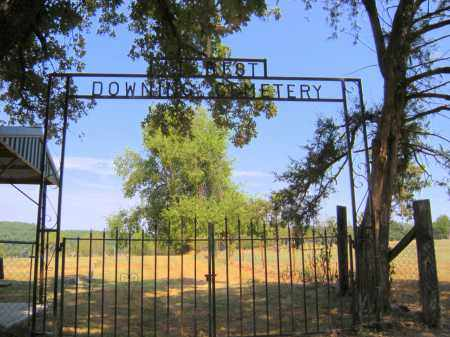 *DOWNING CEMETERY SIGN, . - Adair County, Oklahoma | . *DOWNING CEMETERY SIGN - Oklahoma Gravestone Photos