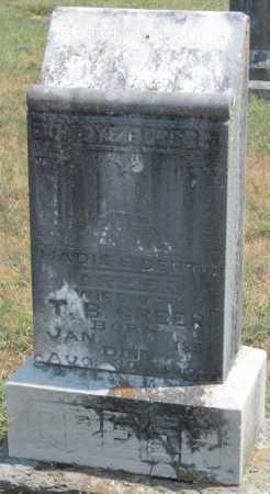 "DENTON GREER, MAHALA ELIZABETH ""HADIE"" - Adair County, Oklahoma | MAHALA ELIZABETH ""HADIE"" DENTON GREER - Oklahoma Gravestone Photos"
