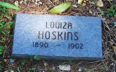 HOSKINS, LOUIZA - Adair County, Oklahoma | LOUIZA HOSKINS - Oklahoma Gravestone Photos