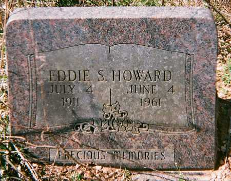 HOWARD, EDDIE S - Adair County, Oklahoma   EDDIE S HOWARD - Oklahoma Gravestone Photos