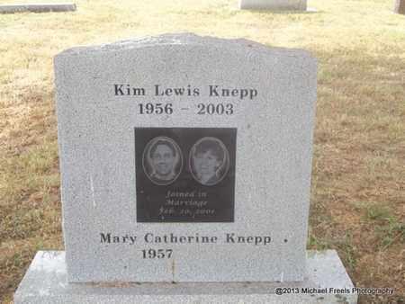 KNEPP, KIM LEWIS - Adair County, Oklahoma | KIM LEWIS KNEPP - Oklahoma Gravestone Photos
