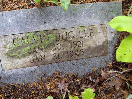 "LEE, CALVIN ""JUG"" - Adair County, Oklahoma 