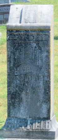 SHEFFIELD, J. T. - Adair County, Oklahoma   J. T. SHEFFIELD - Oklahoma Gravestone Photos