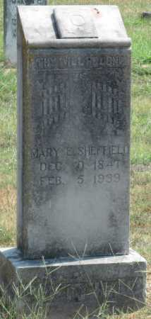 SHEFFIELD, MARY E - Adair County, Oklahoma | MARY E SHEFFIELD - Oklahoma Gravestone Photos
