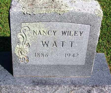 WATT, NANCY - Adair County, Oklahoma | NANCY WATT - Oklahoma Gravestone Photos