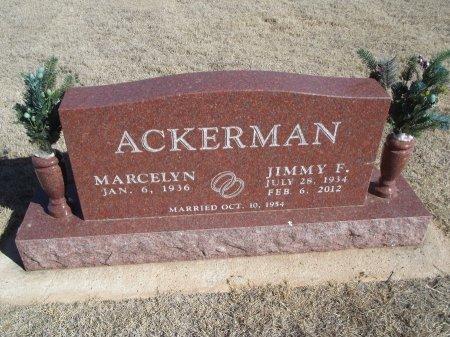 ACKERMAN, JIMMY F - Alfalfa County, Oklahoma   JIMMY F ACKERMAN - Oklahoma Gravestone Photos
