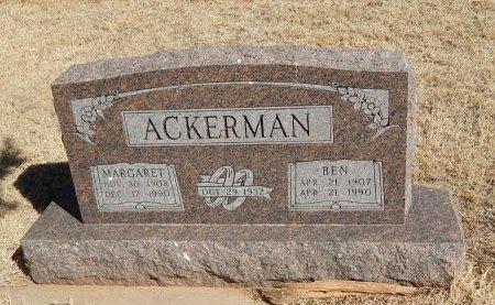 ACKERMAN, MARGARET - Alfalfa County, Oklahoma | MARGARET ACKERMAN - Oklahoma Gravestone Photos