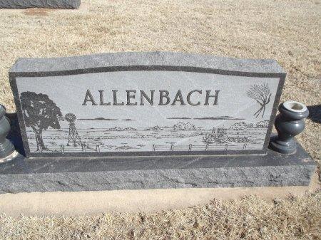 ALLENBACH, FAMILY MARKER - Alfalfa County, Oklahoma | FAMILY MARKER ALLENBACH - Oklahoma Gravestone Photos