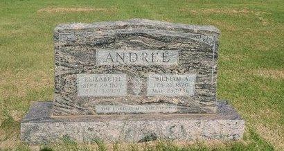 ANDREE, WILLIAM A - Alfalfa County, Oklahoma | WILLIAM A ANDREE - Oklahoma Gravestone Photos