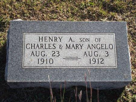 ANGELO, HENRY A - Alfalfa County, Oklahoma | HENRY A ANGELO - Oklahoma Gravestone Photos